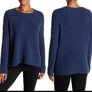 VINCE oversized crew wool & cashmere sweater